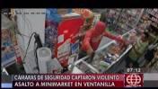 Ventanilla: cámaras de seguridad registraron robo a minimarket
