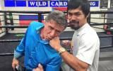 """Manny Pacquiao publica foto junto a """"Rocky"""": ¿Quién ganaría?"""
