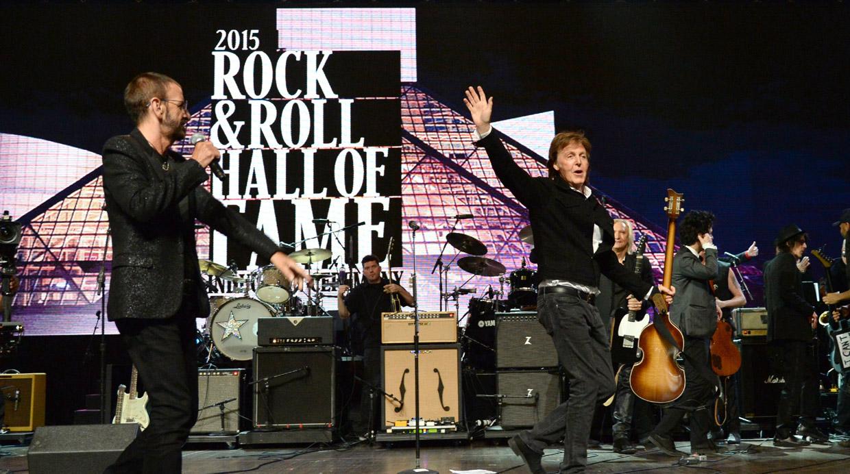 Ringo Starr, el último Beatle en ingresar al Salón de la Fama