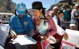 Programa de inclusión social benefició a 5 millones de peruanos