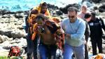Dramático: Barco encalló con decenas de inmigrantes en Grecia - Noticias de accidente en chincha