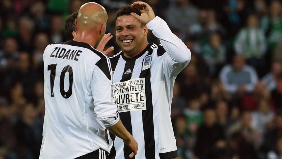 Zidane y Ronaldo, la magia permanece intacta (FOTOS)