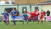 ¿Candidato al Puskas? Golazo de 'tijera' en Gales (VIDEO)