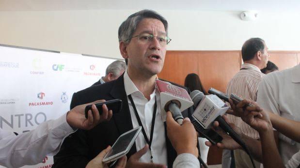"""Confiep pide reducir """"ruido político"""" para mejorar inversiones"""