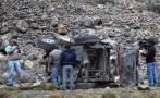 Andahuaylas: tres heridos dejó choque entre camioneta y combi