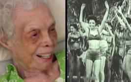 Mujer de 102 años recordó cuando era bailarina [VIDEO]