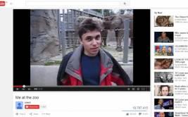 YouTube: el primer video colgado en el portal cumplió diez años