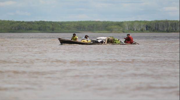 Tres distritos de Loreto en riesgo por nivel del río Marañón