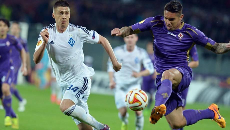 Juan Vargas anotó y festejó así la clasificación con Fiorentina