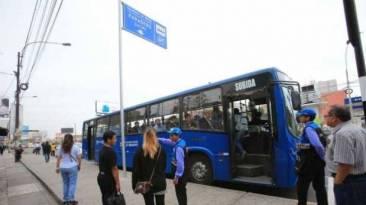 Corredor Javier Prado retomó su fase de prueba con 25 buses