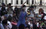 Jorge Acuña: El eterno mimo de la plaza San Martín