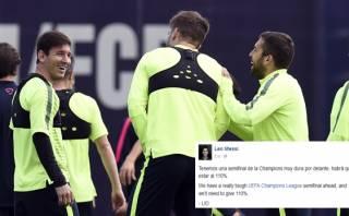 """Lionel Messi y duelo ante el Bayern: """"Habrá que estar al 110%"""""""