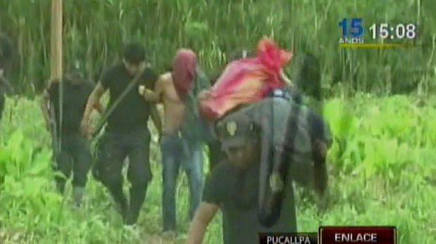Ucayali: brasileños fueron detenidos con droga en frontera