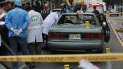 San Isidro: hombre es asesinado a balazos dentro de un taxi