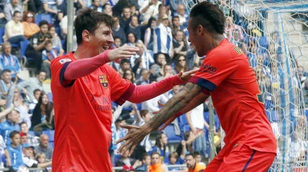 Barcelona ganó 2-0 a Espanyol y sigue firme en la Liga BBVA