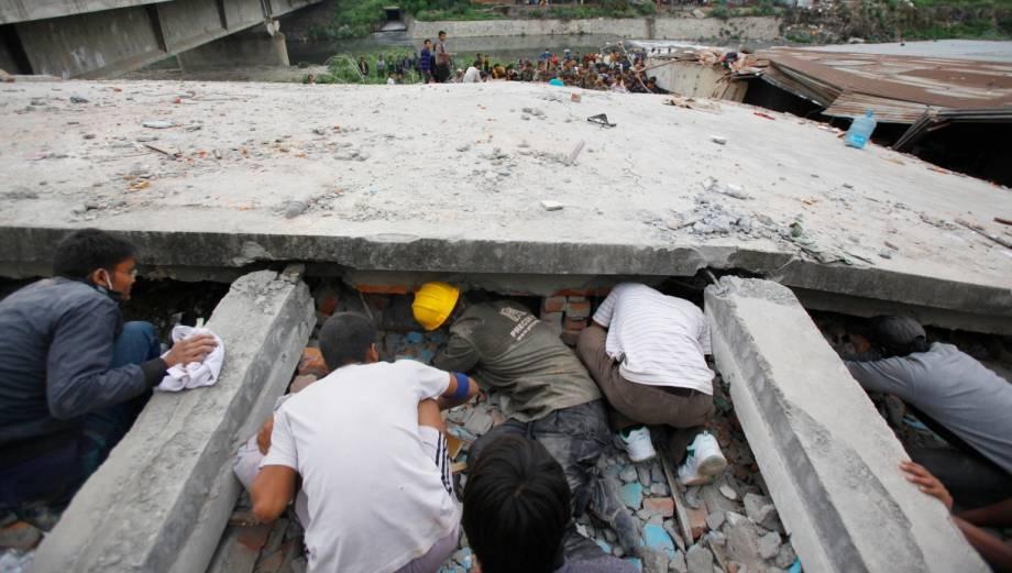 Terremoto en Nepal: Las dramáticas labores de rescate