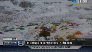 Ocho peruanos estuvieron en Nepal durante el terremoto