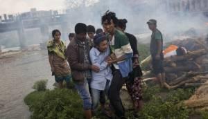 Potente réplica de 6,7 grados sembró pánico en Katmandú