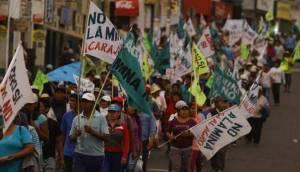 Gobernadora de Arequipa: confirmó arengas violentas