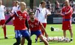 Robben y Benatia regresan a los entrenamientos de Bayern Múnich