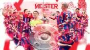Bayern Múnich de Guardiola se coronó campeón de la Bundesliga