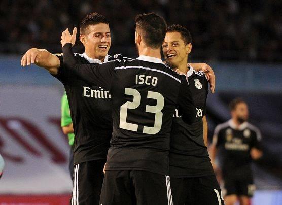 Real Madrid ganó 4-2 al Celta y sigue de cerca al Barcelona