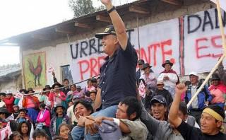 """Daniel Urresti inició campaña de """"reelección"""" del nacionalismo"""
