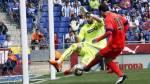 Barcelona: Messi definió casi sin ángulo para anotar a Espanyol - Noticias de luis suarez