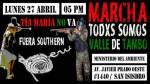 Convocan a movilización en Lima contra proyecto Tía María - Noticias de arequipa