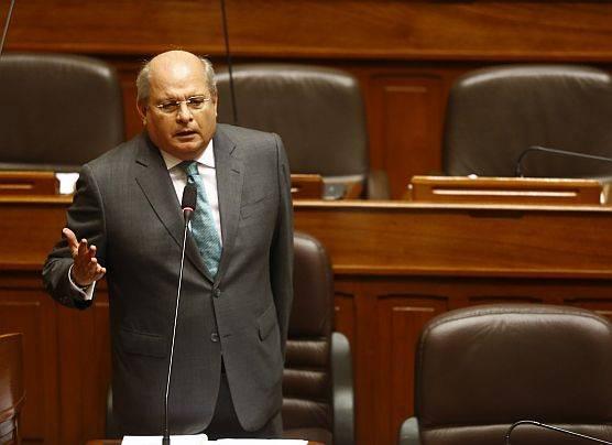 Pedro Cateriano va al Congreso en busca del voto de confianza