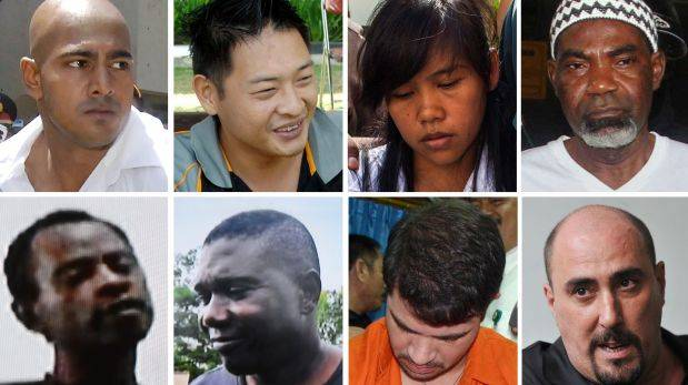 Indonesia anuncia que ejecutará a nueve extranjeros esta semana