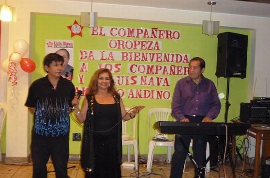 Fotos prueban vínculo entre familia Oropeza y aprista Luis Nava