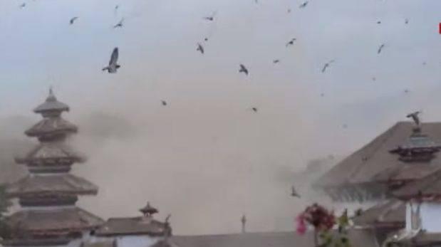 YouTube: así se inició el devastador terremoto en Nepal (VIDEO)