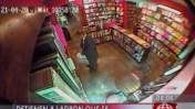 Ladrón de libros en Miraflores está libre pese a grabaciones