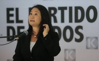 """Keiko tildó de """"trampa"""" pedido de facultades para Ejecutivo"""