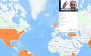 El papa Francisco es el más influyente en Twitter [Interactivo]