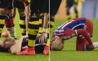 Bayern: Robben descartado ante Barcelona, Lewandowski lesionado