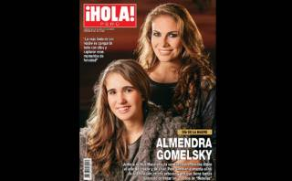 "Almendra Gomelsky presentó a su hija en ""¡Hola! Perú"""