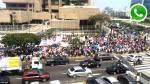 WhatsApp: manifestantes provocaron congestión en San Isidro - Noticias de huelga