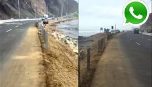 WhatsApp: solo en este espacio caminarás en playa La Pampilla