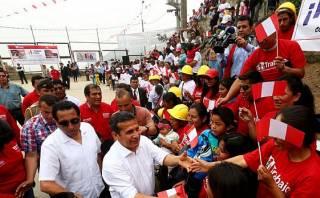 Humala no se pronunció sobre aumento de S/.75 del sueldo mínimo