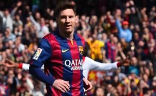 Lionel Messi marcó doblete y sigue de cerca a Cristiano