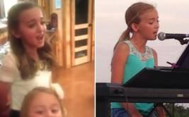 Niña de 11 años cautiva al mundo con su bella voz [VIDEO]