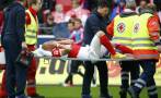 Jugador de Mainz sufrió terrible lesión de rodilla (VIDEO)