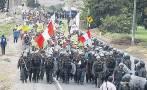Conflicto Tía María: PNP realiza patrullaje en Cocachacra