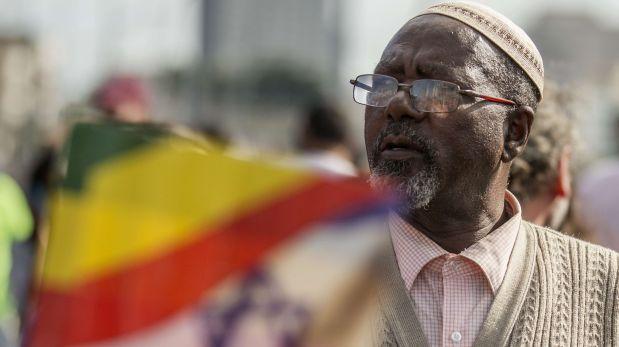 [Foto] Israel: Violencia se desata en protestas de judíos etíopes