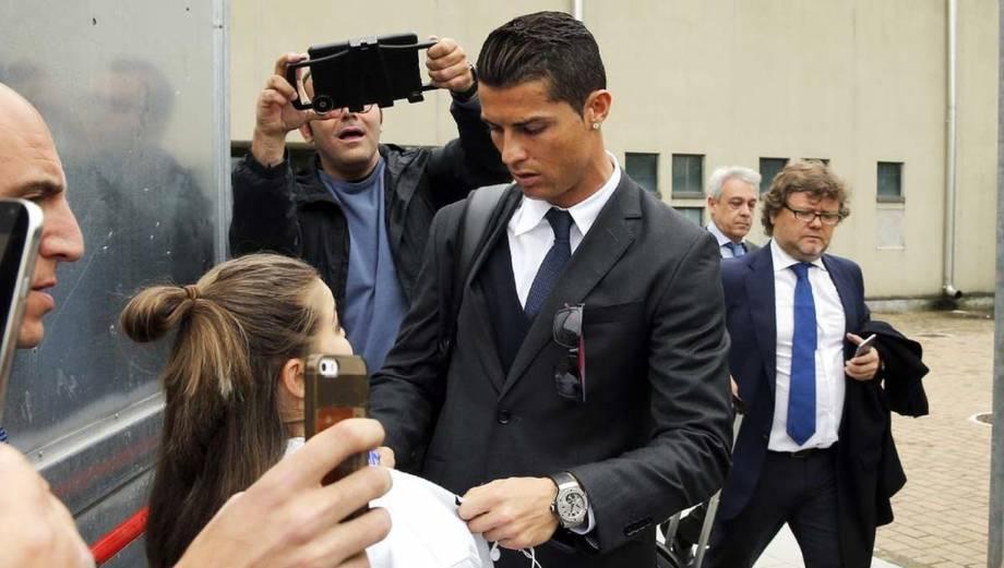 Real Madrid llegó a Turín para partido de Champions League