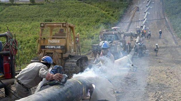 Ayacucho: rotura de ducto de gas estaría reparada en una semana