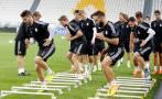 Real Madrid entrenó y reconoció el estadio de la Juventus