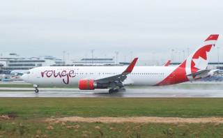 Línea aérea Rouge Air Canadá inaugura vuelos directos a Lima